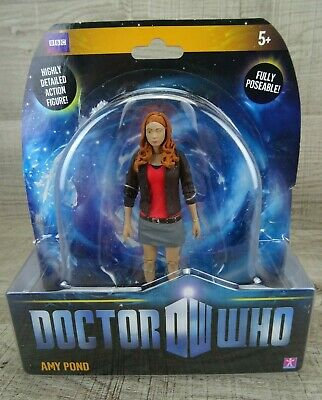 Doctor Who Amy Pond 5  Action Figure BBC Poseable Dr Who Collectible RARE #2 • 19.99£