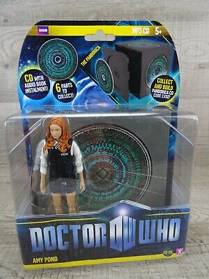Doctor Who Amy Pond Police Uniform & Pandorica CD 6  Action Figure BBC Dr Who #1 • 18.49£