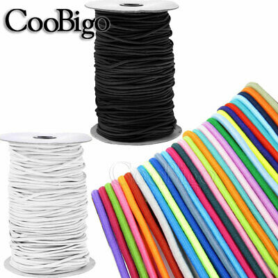 $ CDN4.71 • Buy Dia.1~3mm Elastic Round Cord Stretch Rope Beading String Rubber Band Sewing