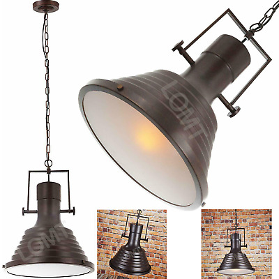 £27.99 • Buy Stage Light Diffused Lights Retro Farmhouse Warm Large Ceiling Pendant Rustic