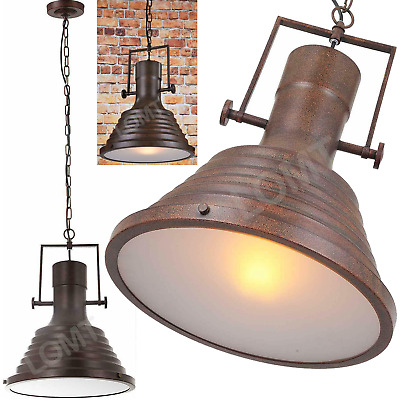 £27.99 • Buy Stage Lights Retro Lights Farmhouse Warm Rustic Large Diffused Ceiling Pendant