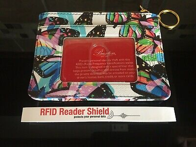 $11 • Buy Buxton Butterfly ID/Coin/Card Case With RFID Reader Shield