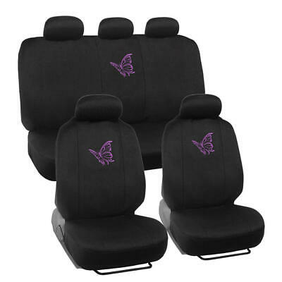 $29.90 • Buy Purple Butterfly Car Seat Covers Full Set - Cute Auto Accessory Gift For Women