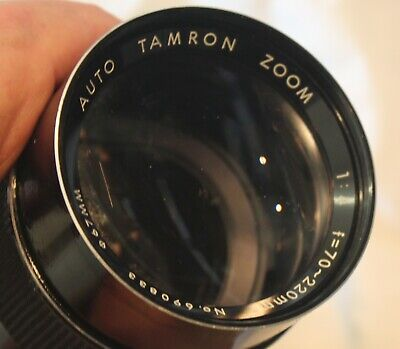AU75 • Buy Tamron PZ-30Au Lens, 70-220mm, F/4.0, C. 1972, Adapt-A-Matic M42 Mount, Leather