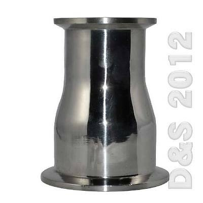 """AU29.99 • Buy 51MM To 102MM 2  To 4""""  SS 316 Sanitary Ferrule Reducer Fitting To Tri Clamp"""