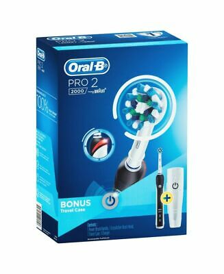 AU99 • Buy Oral-B Pro 2 2000 Electric Toothbrush With Travel Case