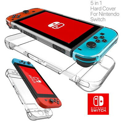 AU12.99 • Buy For Nintendo Switch Transparent Clear Shockproof Protective Hard Case Cover