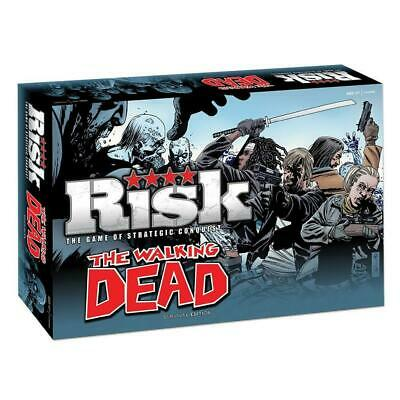 $35.99 • Buy The Walking Dead Risk: Survival Edition Strategic Conquest Board Game USAopoly
