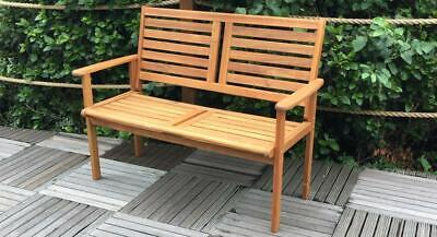 £109.95 • Buy Royalcraft 2 Seater Outdoor Wood/Wooden Garden Bench Park Seat Furniture Chair