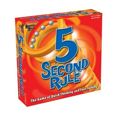 AU29.95 • Buy 5 Second Rule Board Game