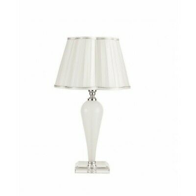 Lumetto Glass Bedside Lamp Modern Crystal Lampshade Cic-Debussy-Lt • 134.06£