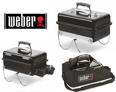 $ CDN103.70 • Buy Weber Go-Anywhere Gas Barbeque-Charcoal Barbecue - Carry Bag- Free UK Delivery