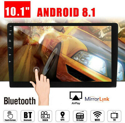 $141.25 • Buy Car Android Touch Monitor Multimedia Video Player 10.1in Radio GPS Navigation