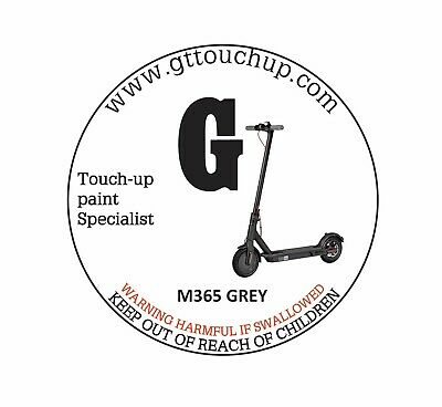 £10 • Buy GT TOUCH UP PAINT FOR XIAOMI M365 Or M365 PRO SCOOTER REPAIR ACCESSORIES GREY