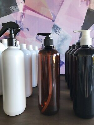 AU3.90 • Buy Black & White Pump And Spray Nozzles For PET Bottles 500/1000ml- NOZZLE ONLY