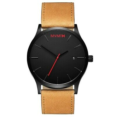 AU85 • Buy Brand New MVMT Watch - Tan Leather Men's Watch (Unwanted Gift)