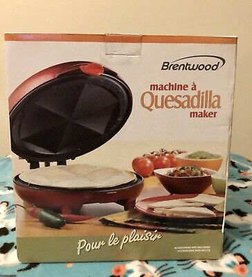 $24 • Buy George Foreman Electric Quesadilla Maker Red GFQ001