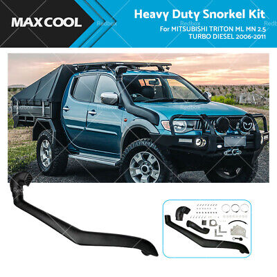 AU129 • Buy Snorkel Kit Fits MITSUBISHI TRITON ML MN 2.5 TURBO DIESEL 2006-2011 Air Intake
