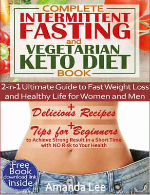 $1.99 • Buy Complete Intermittent Fasting And Vegetarian Keto Diet Book – 2-in-1 (((P.D.F)))