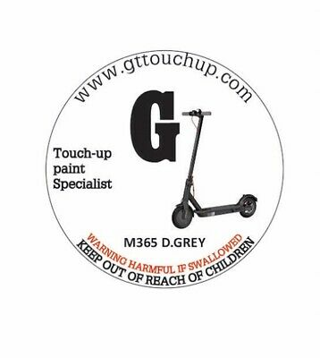 £10 • Buy GT TOUCH UP PAINT FOR XIAOMI M365 Or M365 PRO  SCOOTER REPAIR ACCESSORIES D.GREY