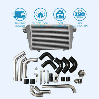 AU621 • Buy Front Mount Intercooler Kit Fits Toyota Landcruiser 80 Series 4.2L 1HDT-H 1HZ