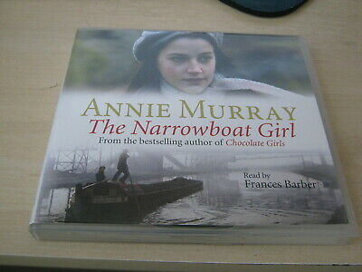 Annie Murray - The Narrowboat Girl By Audiobook - Like New And Free Shipping! • 10.69£