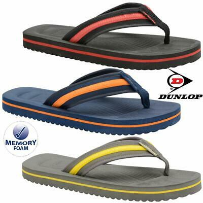 Mens Summer Sandals New Toe Post Casual Mule Beach Pool Shower Flip Flops Shoes • 7.95£