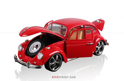 Vintage VW Beetle Superior 1967 1/18 Model Car Diecast Collectable Gift Boys Red • 23.55£