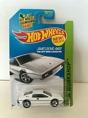 $ CDN13.32 • Buy Hot Wheels LOTUS ESPRIT S1 James Bond 007 HW Workshop New 2015 Die-Cast Car 1:64