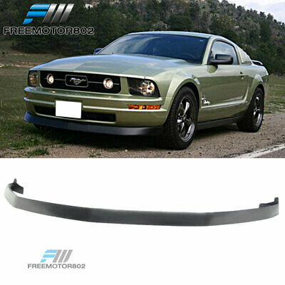 $104.88 • Buy Fits 05-09 Ford Mustang V6 Front Bumper Lip Spoiler PU