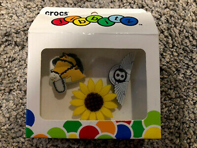 $59.99 • Buy Post Malone X Crocs Jibbitz Charms 3-Pack, Sunflower, Bentley, Horse, RARE!