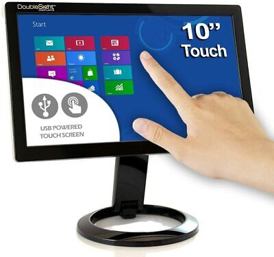 £153.63 • Buy DoubleSight Smart USB Touch Screen LCD Monitor, 10  Screen, Portable, Adjustable