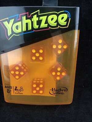 AU21.12 • Buy Yahtzee Neon Pop Board Game Strategy Game With Dice To Go Travel Hasbro