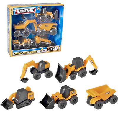 Kids Toy Engineering Construction Trucks Digger Vehicle Car Model Teamsterz  JCB • 9.45£