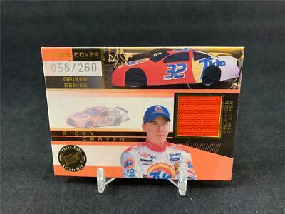 $4.99 • Buy 2002 Press Pass Eclipse Nascar Ricky Craven Under Cover Car Cover Relic 056/260