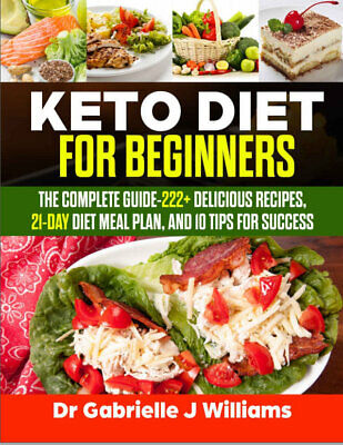$1.99 • Buy Keto Diet For Beginners – The Complete Guide-222+ Delicious Recipes (((P.D.F)))