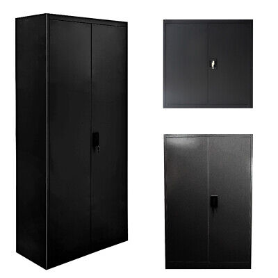 Filing Cabinet Office Metal Storage Lockers 3/4/5 Tiers Home Storage Cupboard • 99.99£