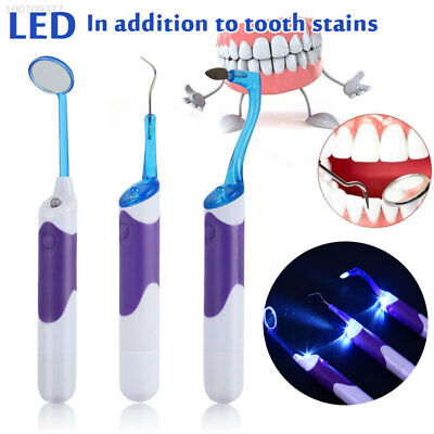 $10.88 • Buy Electric LED Dental Sonic Teeth Cleaner Ultrasonic Plaque Remover Dental Tools