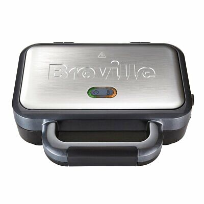 £19.95 • Buy Breville VST041 Deep Fill Toastie Toasted Sandwich Maker With Removable Plates
