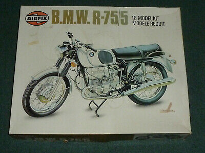Airfix 1:8 Scale - BMW R-75/5 Model Kit - Vintage From 1979 • 100£