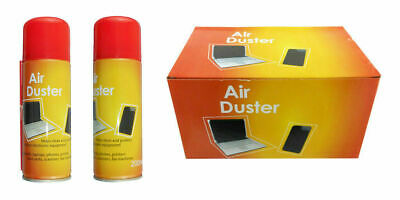 200ml Compressed Air Duster Cleaner Can Canned Laptop Keyboard Mouse Phones • 7.99£