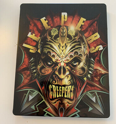 $30 • Buy 2018 Limited Edition JEEPERS CREEPERS Blu-ray STEELBOOK