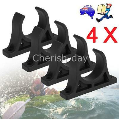 AU11.95 • Buy NEW 4X Kayak Boat Plastic Paddle Clips Oar Holder Mount Accessories Plastic OZ