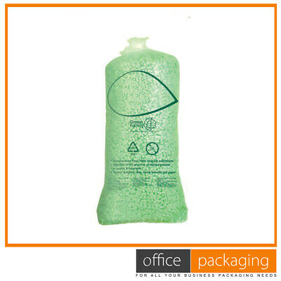 £98.82 • Buy Polystyrene 8 Shape Expanded Green Loose Fill Packing Peanuts Void Fill Packing