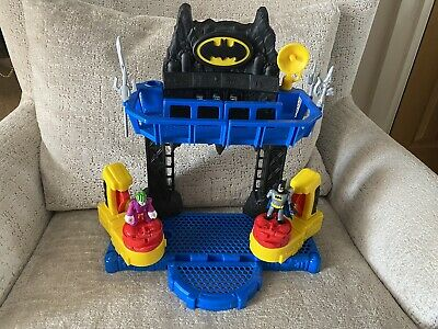 Imaginext FKW12 Battle Bat Cave With Batman And Joker Figures Multi-colored • 25£