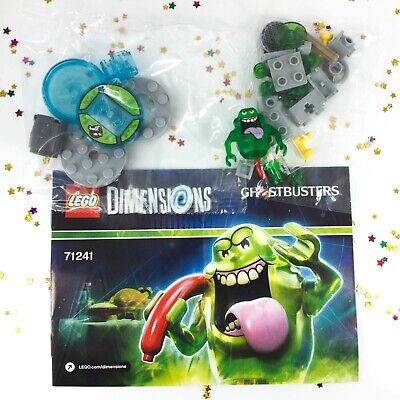 AU45 • Buy NEW LEGO Dimensions Slimer Ghostbusters FUN Pack 71241 Minifigure Slime Shooter