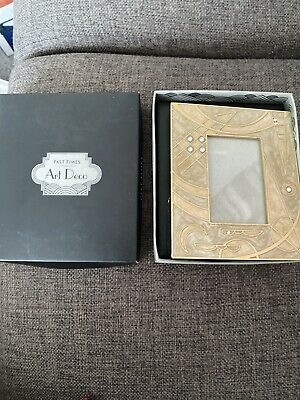 Past Times Art Deco Style Photo Frame 2x3 • 12£
