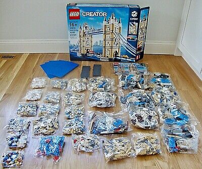 LEGO Creator London Tower Bridge Set #10214 - Opened Box / Sealed Bags • 221.69£
