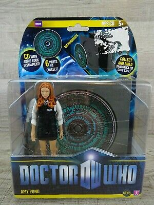 Doctor Who Amy Pond Police Uniform & Pandorica CD 6  Action Figure BBC Dr Who #2 • 16.99£