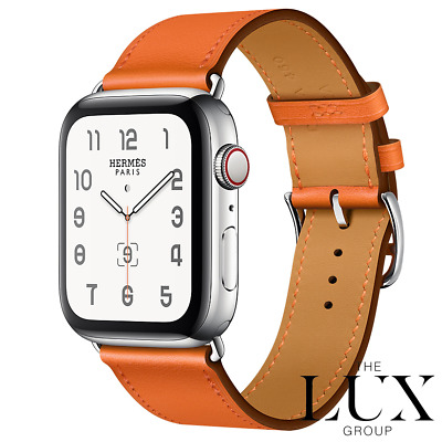 AU1334.94 • Buy New Hermes Apple Watch Single Tour 38mm 40mm BAND ONLY Orange RARE
